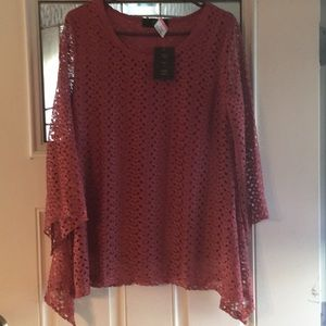 Tops - NWT Beautiful Lace Top